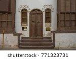 old door and window design in... | Shutterstock . vector #771323731