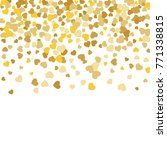 vector confetti background... | Shutterstock .eps vector #771338815