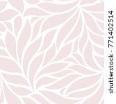 seamless abstract pinkl... | Shutterstock .eps vector #771402514