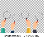 vector colored hands holding a...   Shutterstock .eps vector #771408487
