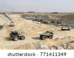 coal mining and processing... | Shutterstock . vector #771411349