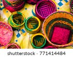 handicraft products of an... | Shutterstock . vector #771414484