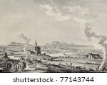 Small photo of View of Trapani and Aegadean islands, Sicily. Created by Desprez and L'Epine, published on Voyage Pittoresque de Naples et de Sicilie, by J. C. R. de Saint Non, Imprimerie de Clousier, Paris, 1786