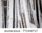 texture of a tree and boards... | Shutterstock . vector #771448717