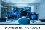 in the system control data... | Shutterstock . vector #771480475