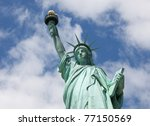May 2011. Statue Of Liberty On...