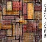 seamless background. geometric... | Shutterstock .eps vector #771516934