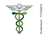 caduceus medical symbol   Shutterstock .eps vector #771526015
