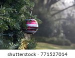 christmas in the park | Shutterstock . vector #771527014