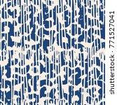 indigo vector tie dye seamless... | Shutterstock .eps vector #771527041