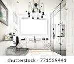 abstract sketch design of... | Shutterstock . vector #771529441
