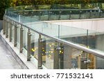 tempered laminated glass... | Shutterstock . vector #771532141