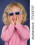 funny girl | Shutterstock . vector #77153737