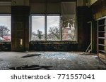 Small photo of Detroit Abandon School Lilbrary