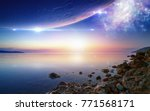 tranquil wallpaper for ambient... | Shutterstock . vector #771568171