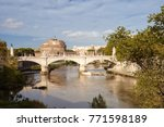rome  italy   september 22 ... | Shutterstock . vector #771598189