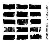 set of rectangular text box....   Shutterstock .eps vector #771598354