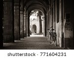 Lucca Street View With Bike In...