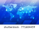 modern ultra hd crypto currency ... | Shutterstock .eps vector #771604459