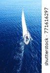 aerial drone bird's eye view of ... | Shutterstock . vector #771616297