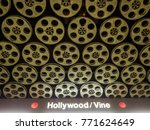 Hollywood Vine Metro Station ...
