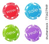 creative sale discount or... | Shutterstock .eps vector #771627949