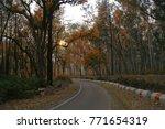 sunset evening  kalsi  chakrata ...   Shutterstock . vector #771654319
