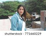 fashion woman.    Shutterstock . vector #771660229
