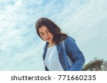 fashion woman.    Shutterstock . vector #771660235