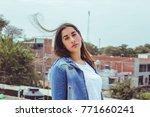 fashion woman.   Shutterstock . vector #771660241