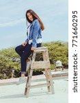 fashion woman.    Shutterstock . vector #771660295