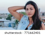 fashion woman. stylish woman....   Shutterstock . vector #771662401