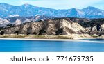 Landscape Of Lake Cachuma And...
