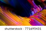 color in motion series.... | Shutterstock . vector #771695431