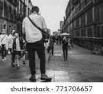 young man traveling in mexico... | Shutterstock . vector #771706657