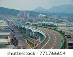 taipei  aug 19  the scenic on... | Shutterstock . vector #771766654