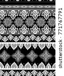 seamless ethnic pattern.... | Shutterstock .eps vector #771767791