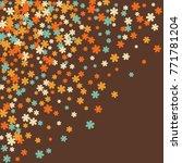 vector confetti background... | Shutterstock .eps vector #771781204