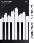 music grand piano poster...