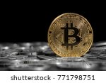 bitcoin over the other... | Shutterstock . vector #771798751