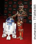 r2 d2 and c 3po at the world... | Shutterstock . vector #771856585