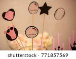 happy birthday concept | Shutterstock . vector #771857569