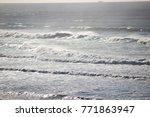 Scenic Pacific Ocean Waves Low...