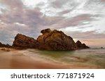 da nhay beach  vietnam   2008 ... | Shutterstock . vector #771871924