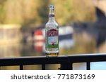 empty glass of desperados... | Shutterstock . vector #771873169
