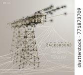 background image of a bridge in ... | Shutterstock .eps vector #771873709