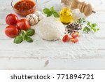 food ingredients and spices for ... | Shutterstock . vector #771894721