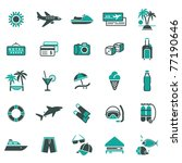 signs. vacation  travel  ... | Shutterstock .eps vector #77190646