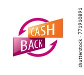emblem cash back | Shutterstock .eps vector #771910891