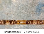frescoes  wall painting in... | Shutterstock . vector #771914611